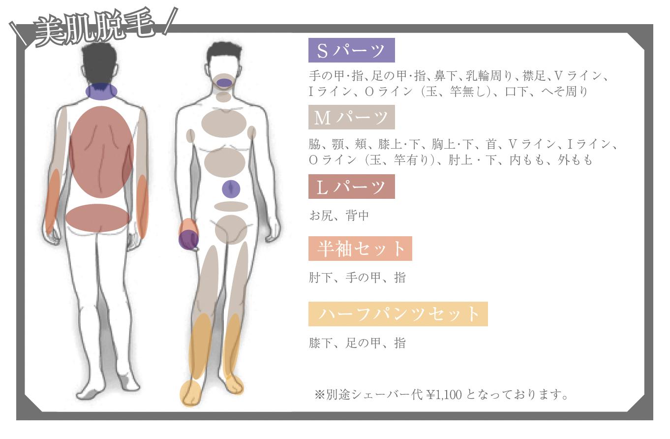 メンズ脱毛/ヒゲ脱毛_l